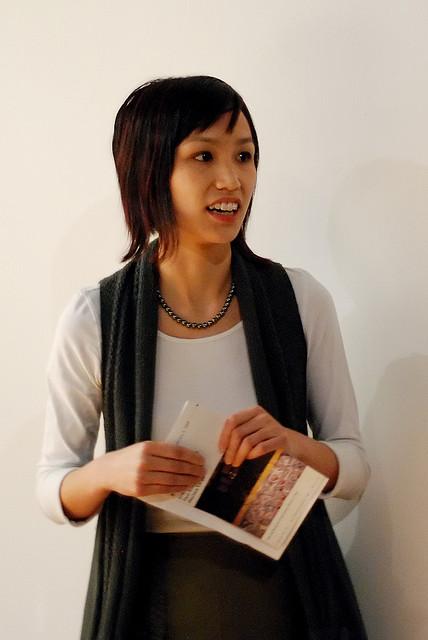 Co-organizer Marissa Largo