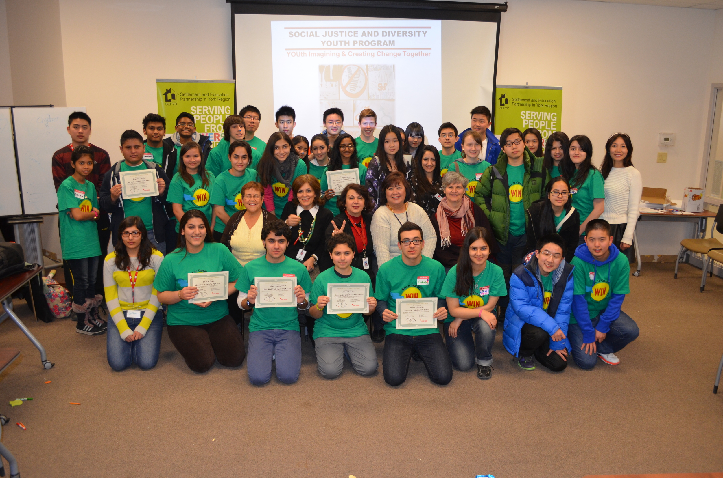 The Youth Conference on Social Justice and Diversity, 2014. Image by CCSYR.