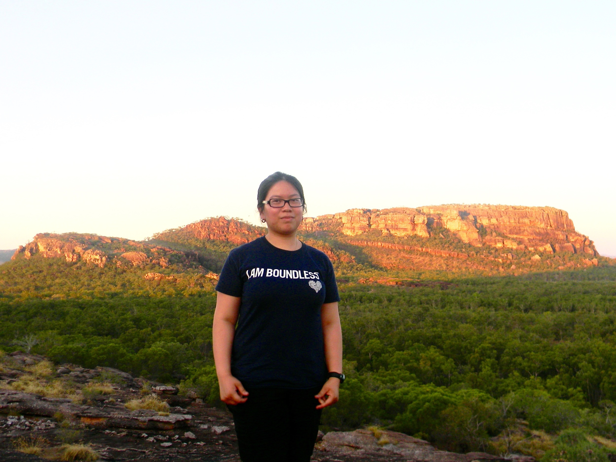 """Boundless"" Diane Lopez in Kakadu National Park, Australia."