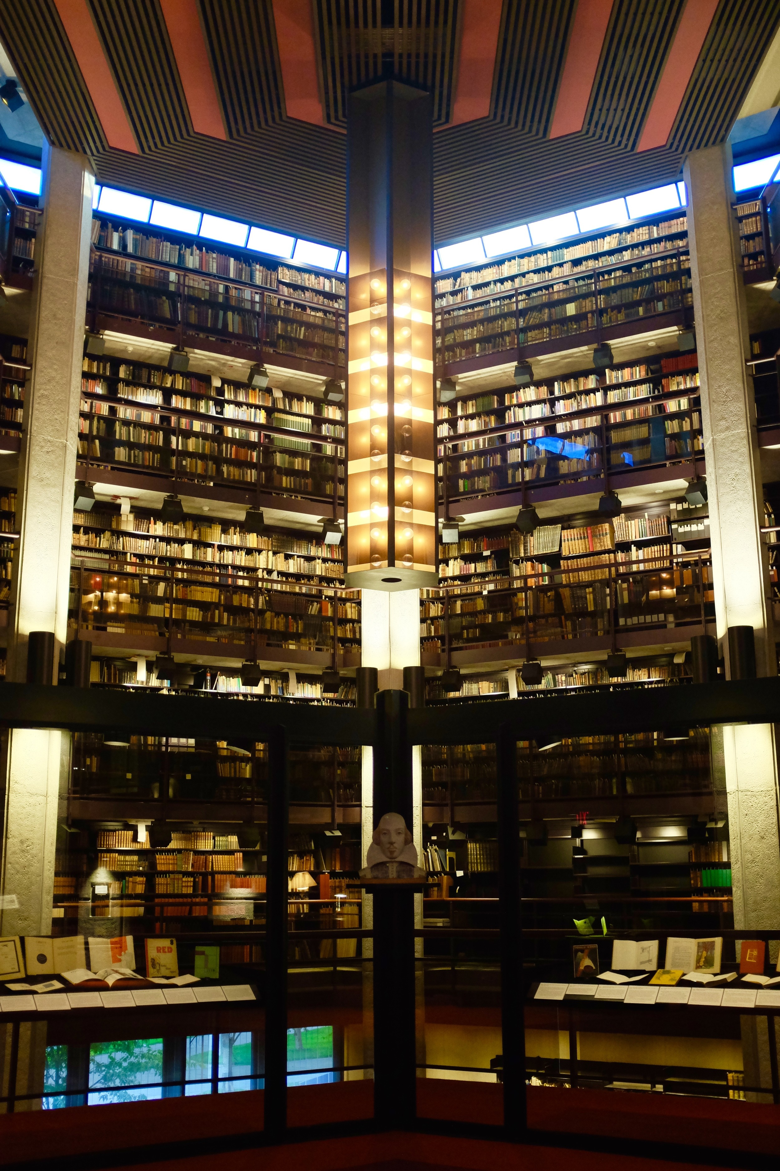 The Fisher Library's rare books and manuscripts collection. Photo by J Austria