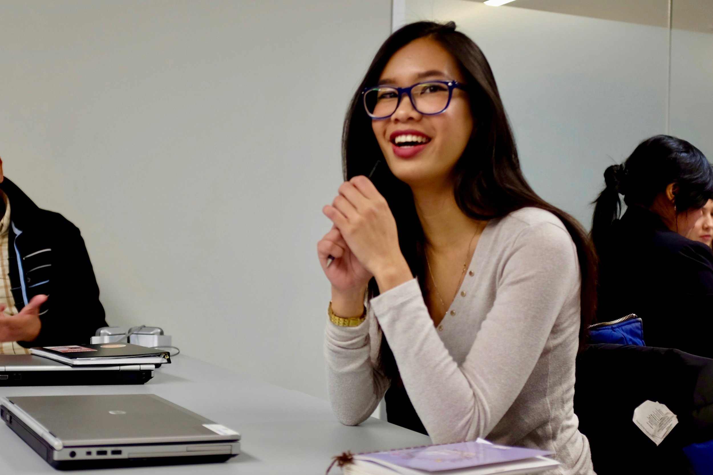 """NPower Canada made my work goals come true with dedication and perseverance,"" said Arolyn Madrid. Photo by J. Austria."