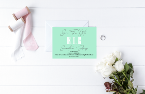 Save The Date Cards — Marriage For Millennials