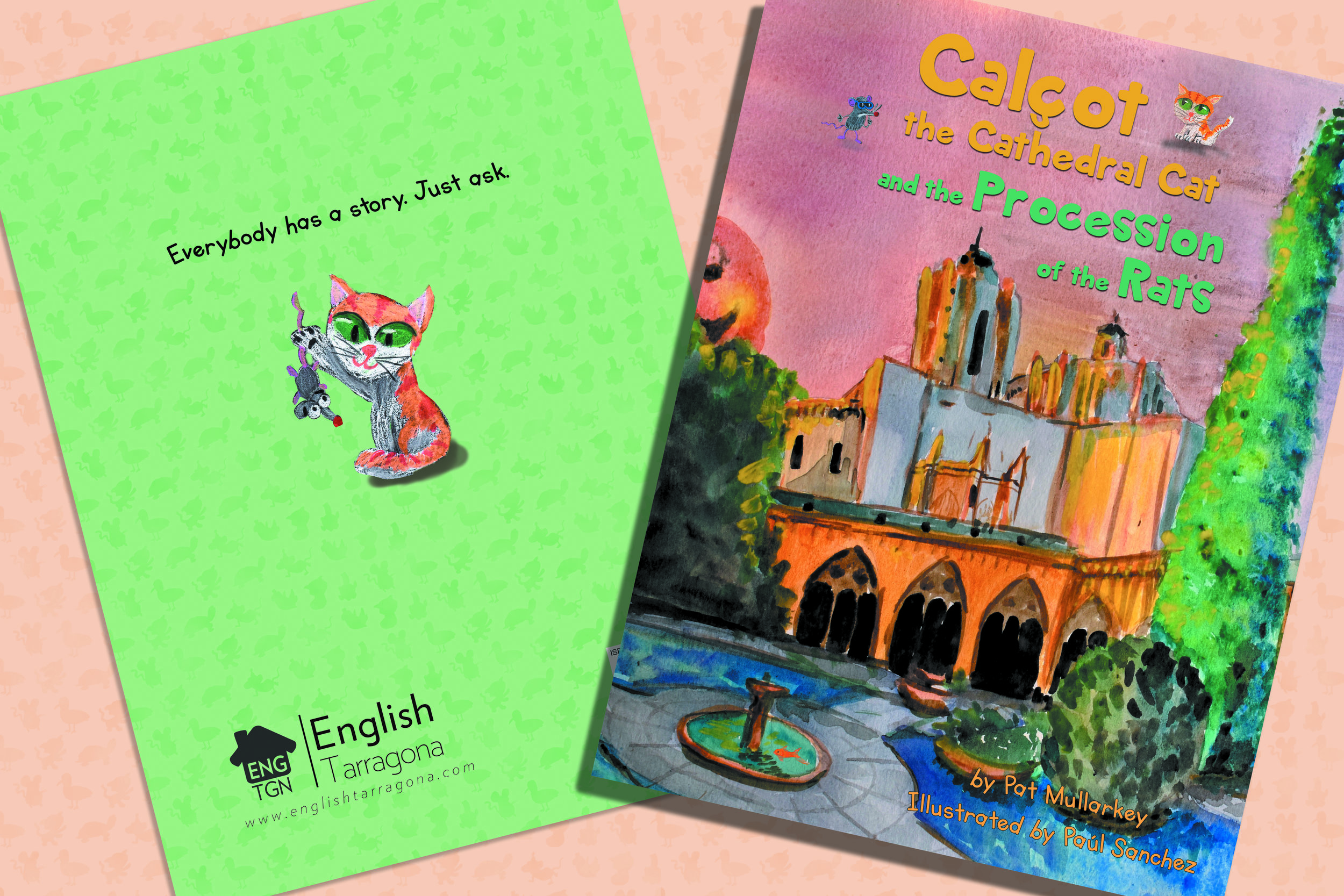 Calçot the Cathedral Cat and the Procession of the Rats - Available 23/4/2018
