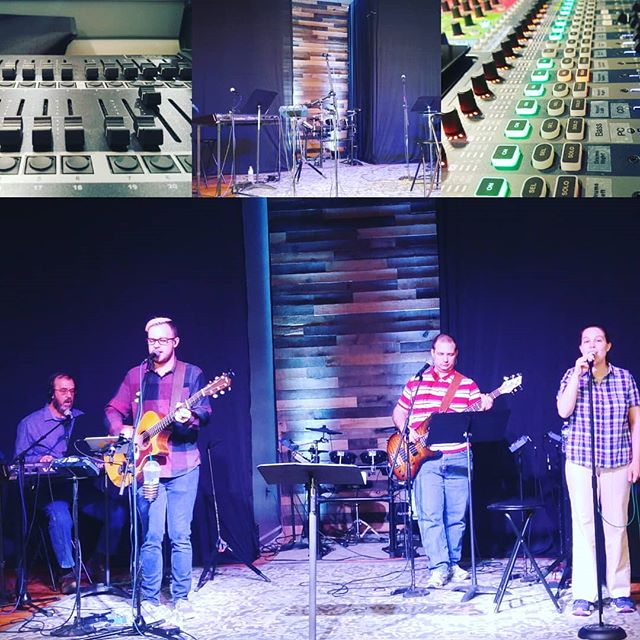 We're ready for You! Can't wait to worship with you this morning!