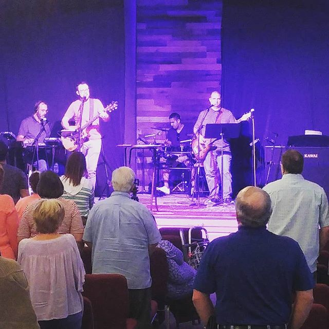 Thanks for worshipping with us this morning!
