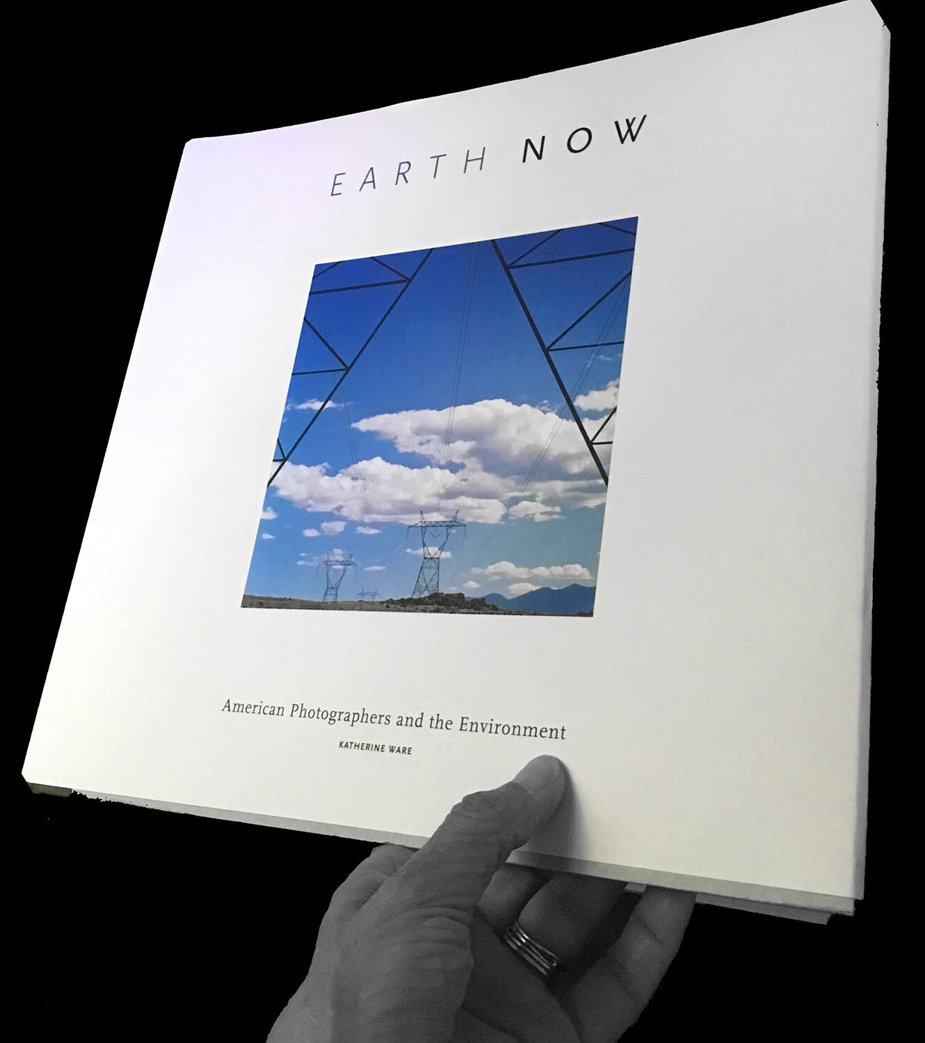 Earth Now American Photographers and the Environment  - book cover photograph Cedar Wash from   Gridlines