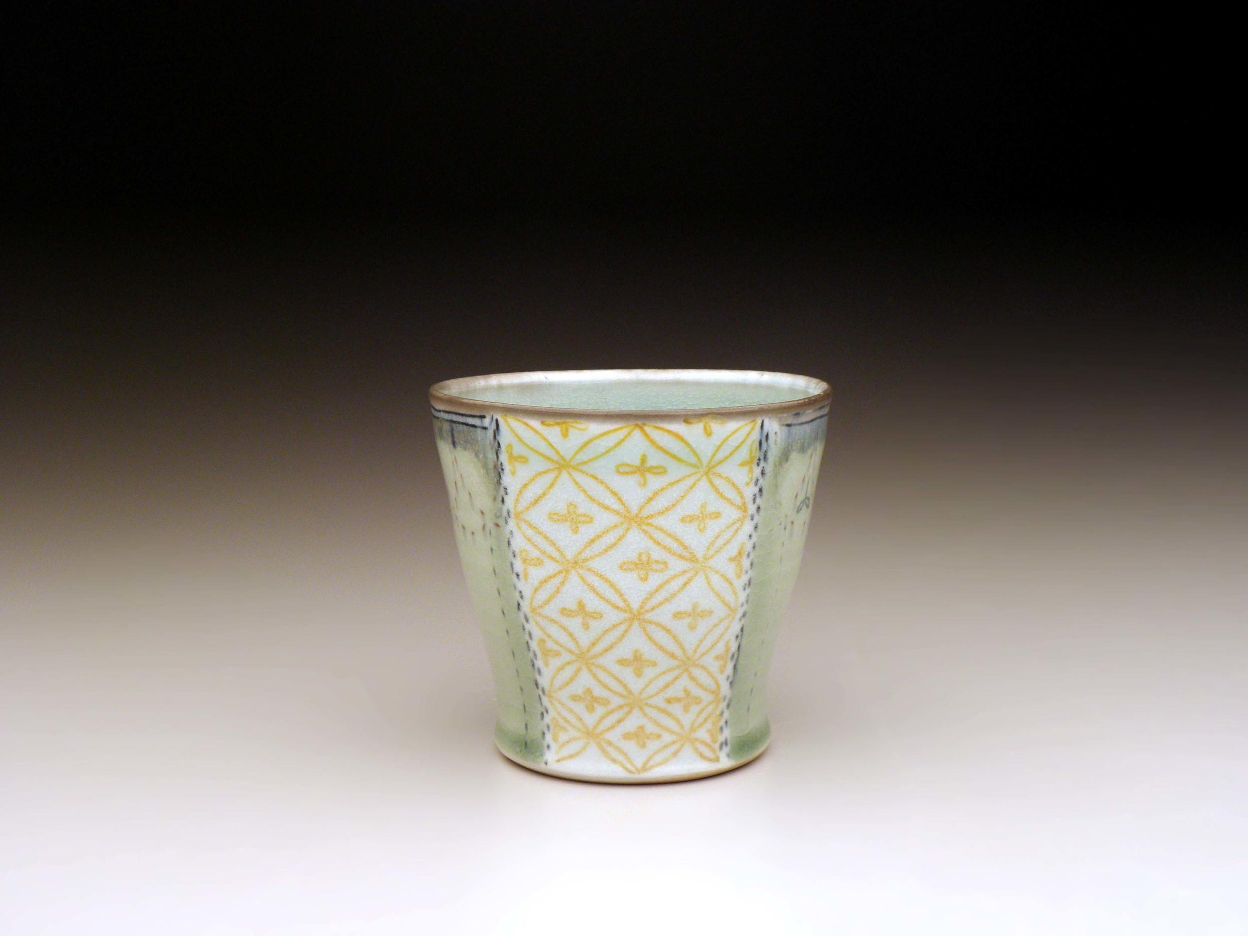 Orange Flower Cup