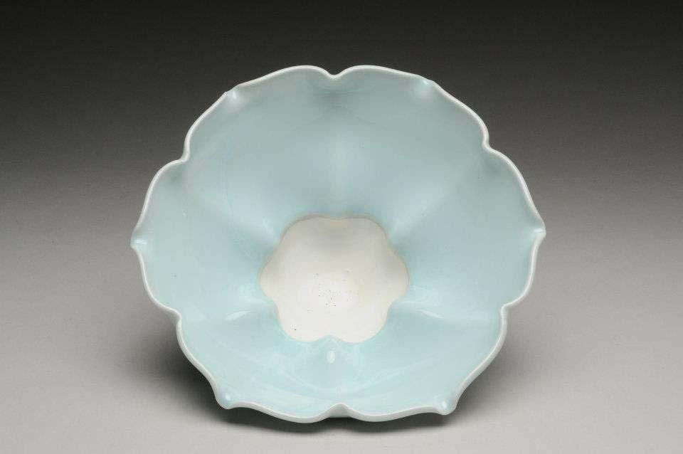 Soft Blue Petal Mug