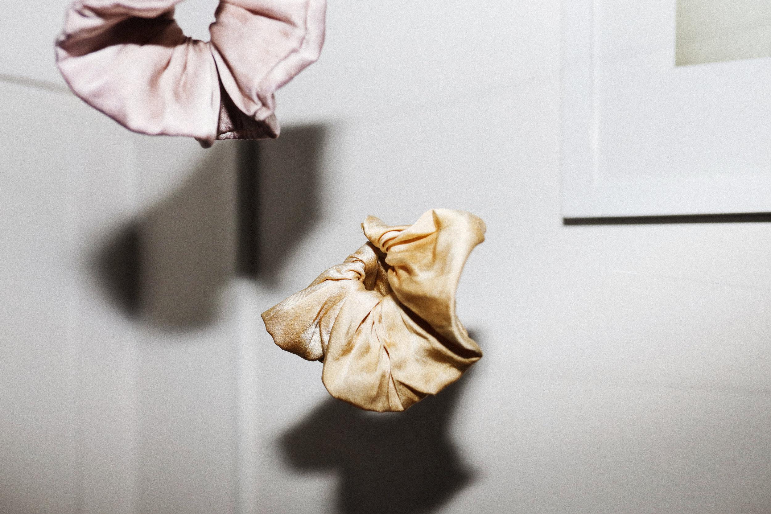 Silk scrunchie – $22