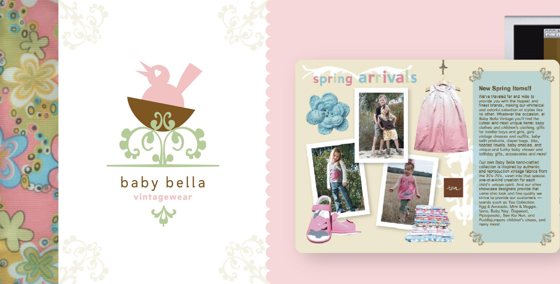 DesignCode : Brand Identity : Baby Bella : Gallery 1