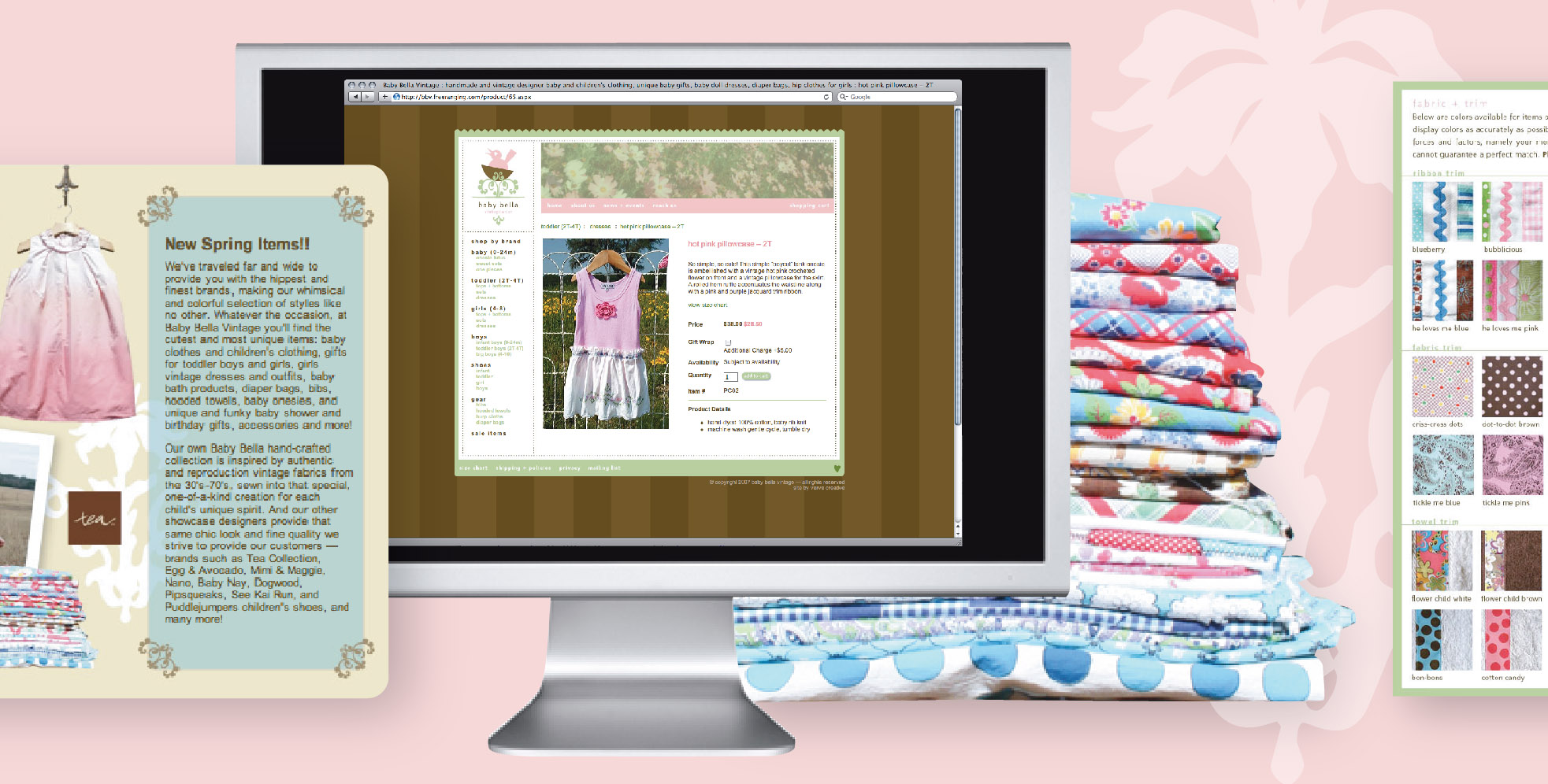 DesignCode : Brand Identity : Baby Bella : Gallery 2