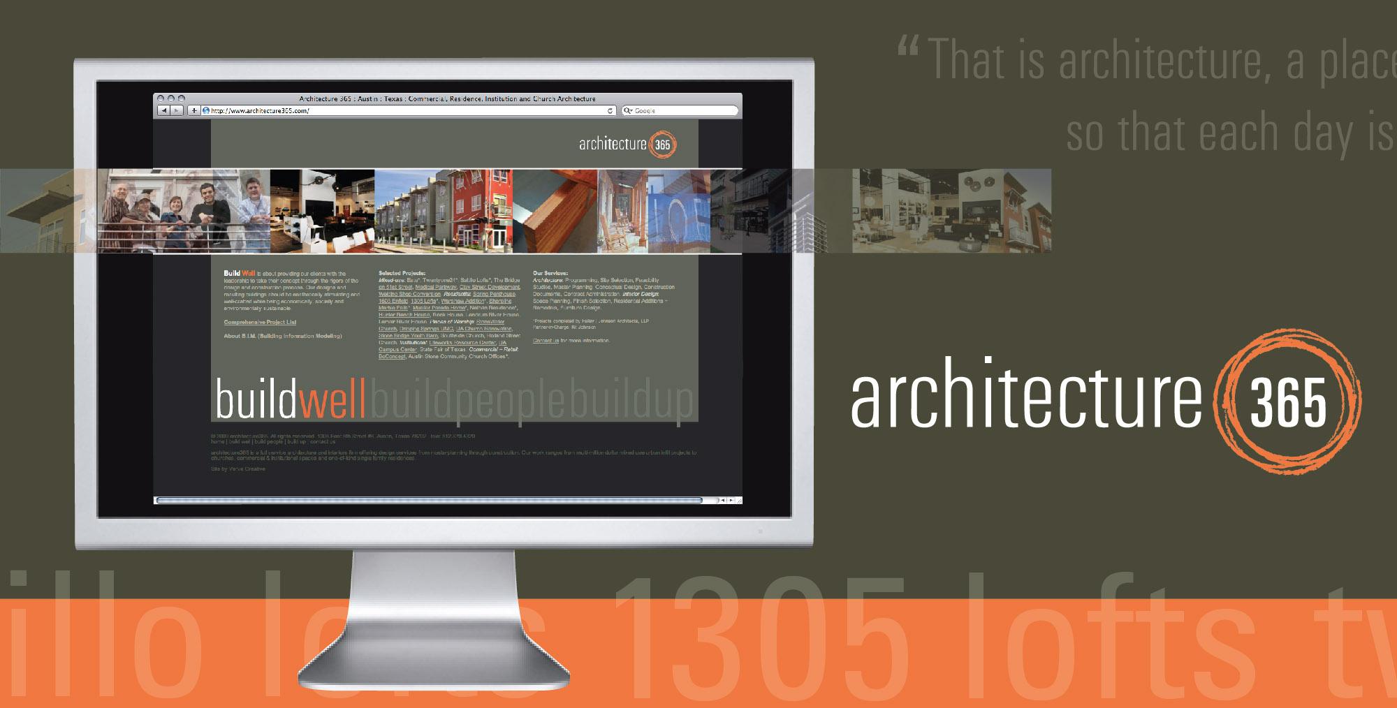 DesignCode : Brand Identity : archcitecture365 : Gallery 1
