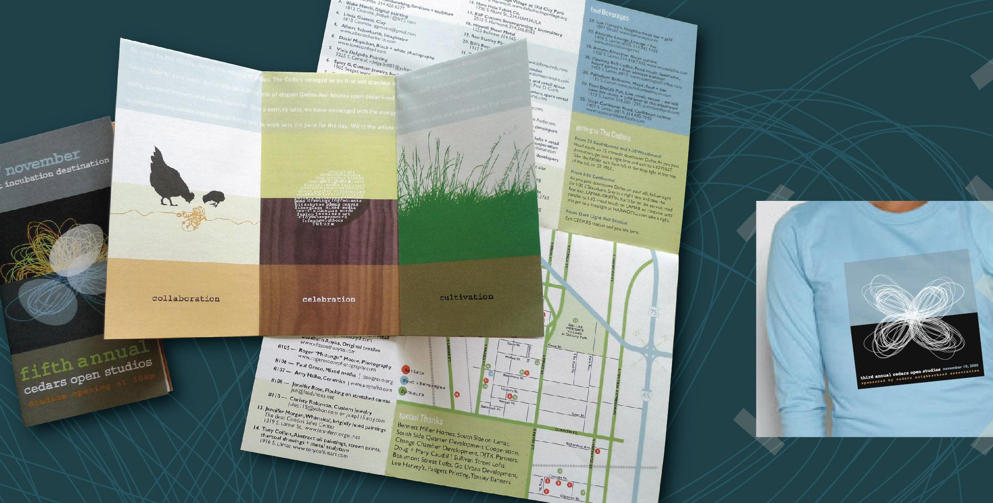 DesignCode : Brand Identity : Cedars Open Studios : Gallery 2