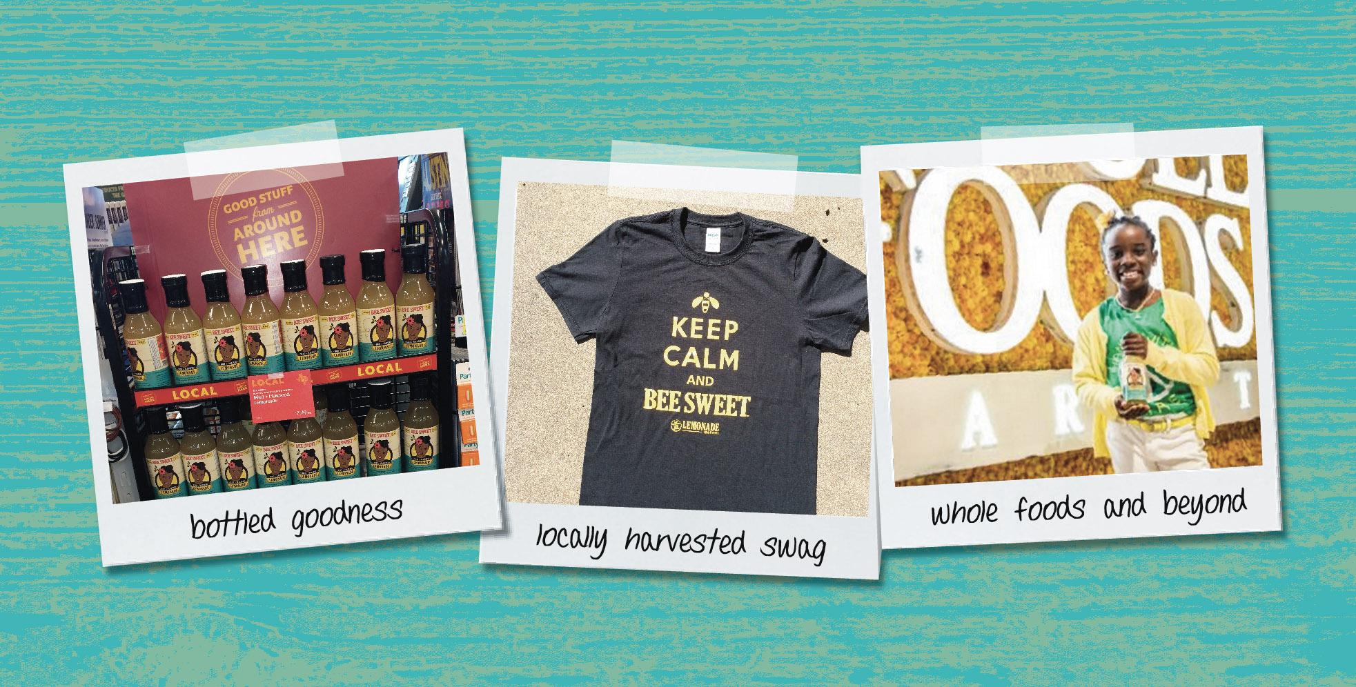 DesignCode : Brand Identity : BeeSweet Lemonade : Gallery 2