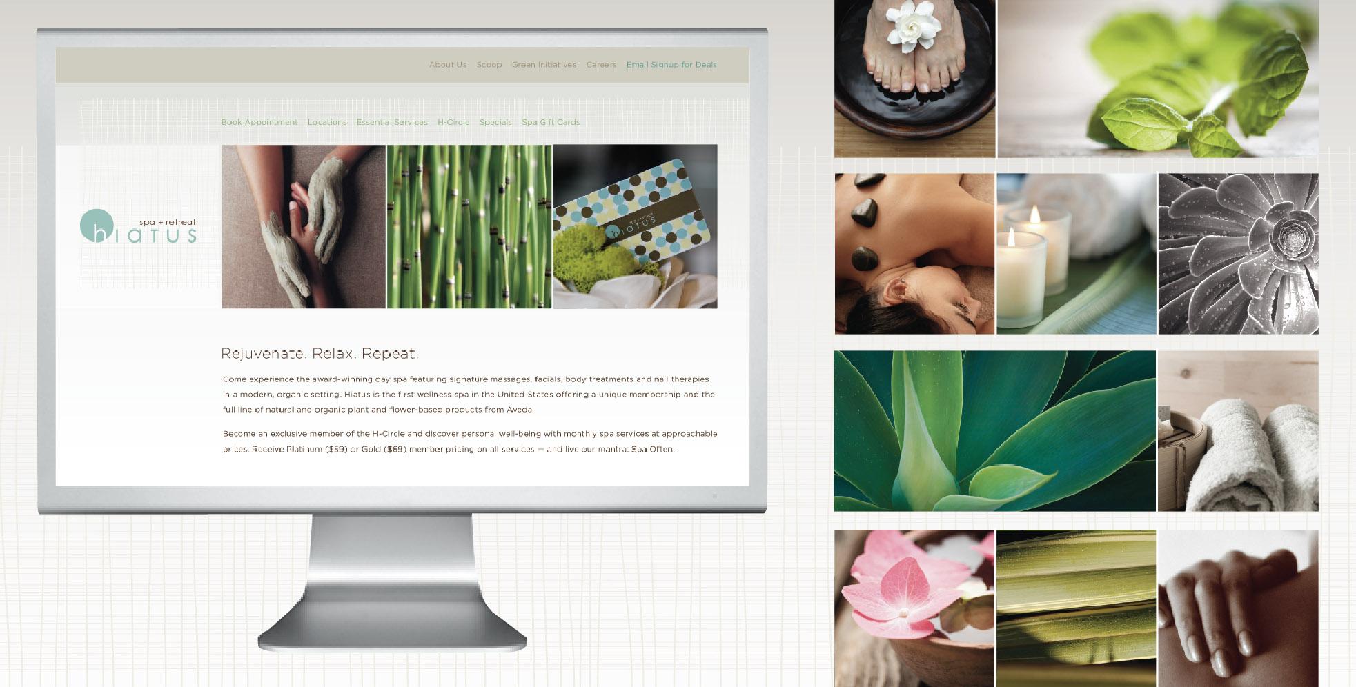 DesignCode : Brand Identity : Hiatus Spa + Retreat : Gallery 2