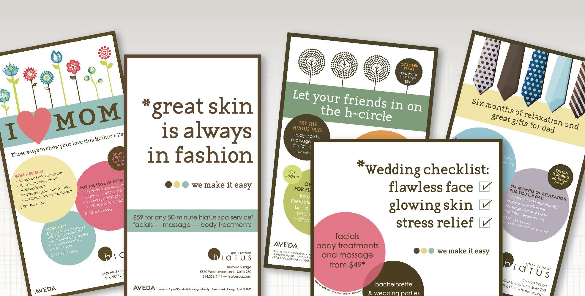 DesignCode : Brand Identity : Hiatus Spa + Retreat : Gallery 3