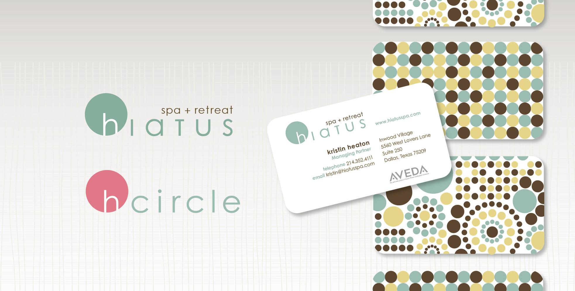 DesignCode : Brand Identity : Hiatus Spa + Retreat : Gallery 1