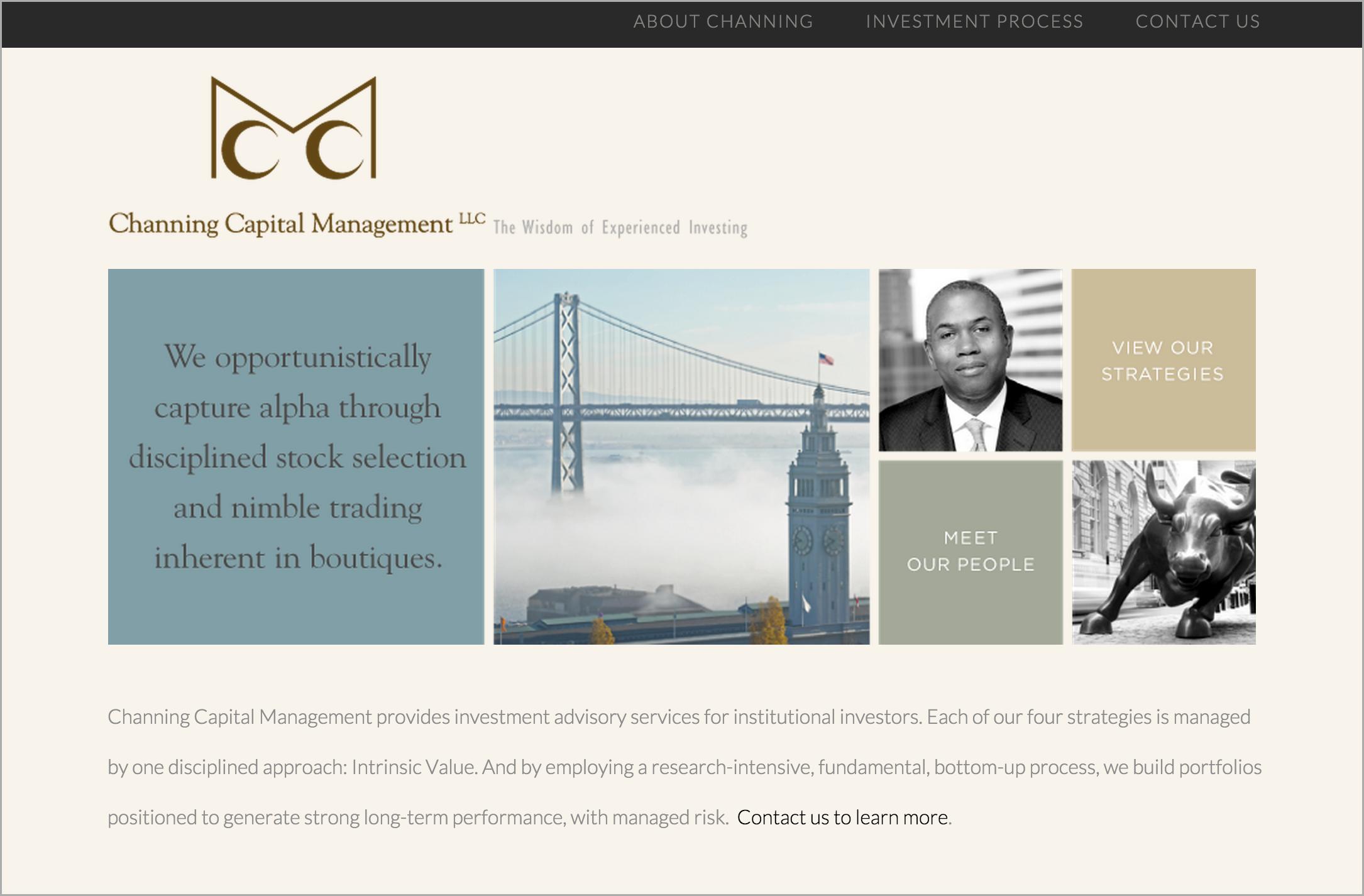 Channing Capital Management Website Design | DesignCode | Austin, Texas