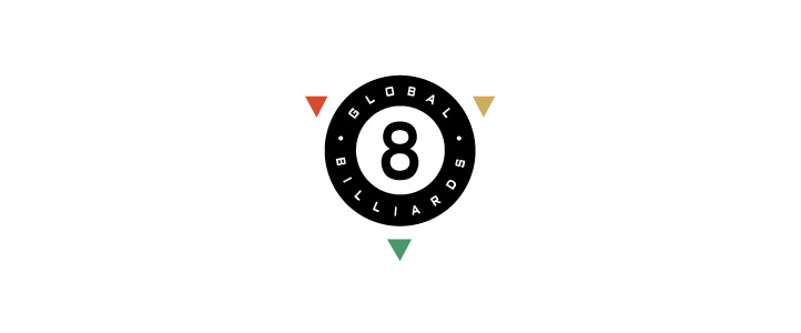 Global Billiards Logo Design   | DesignCode | Austin, Texas
