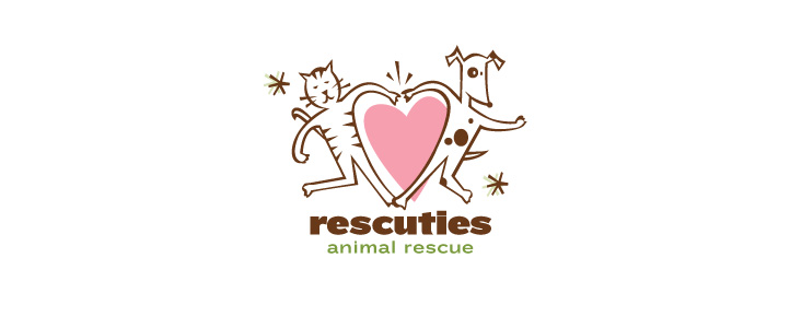 Austin animal rescue Logo Design   | DesignCode | Austin, Texas