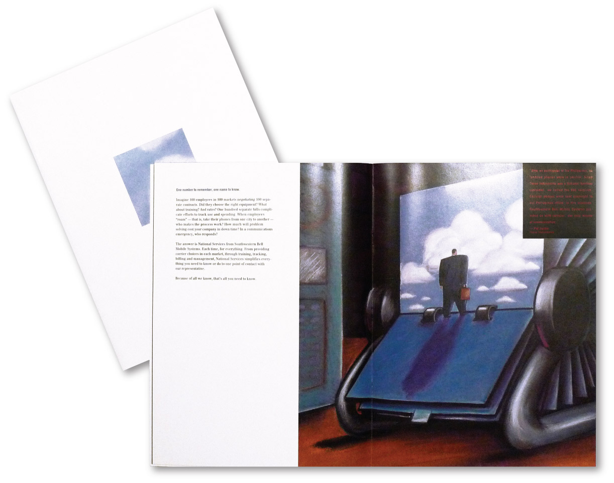 Southwestern Bell Brochure Design    DesignCode   Austin, Texas