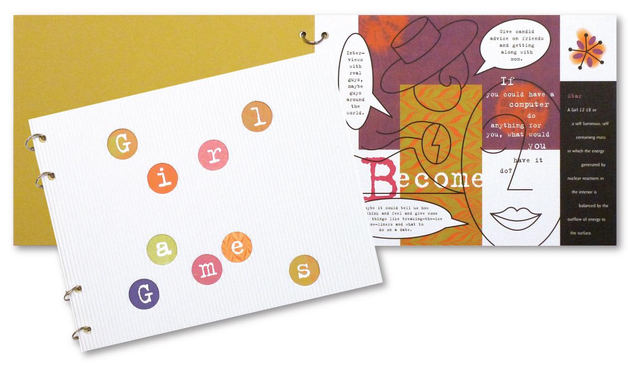 Girl Games Brochure Design    DesignCode   Austin, Texas