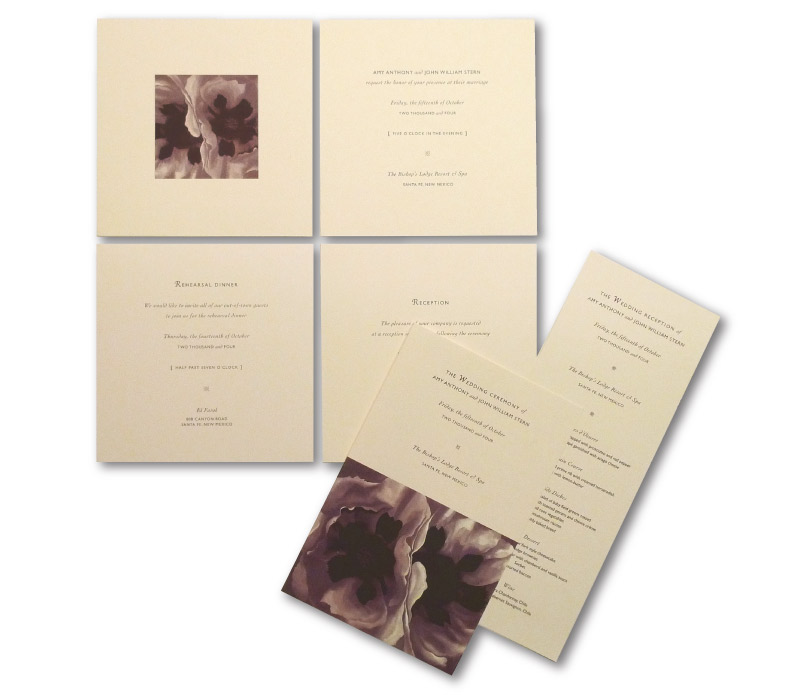 Custom Wedding InvitationDesign  | DesignCode | Austin, Texas