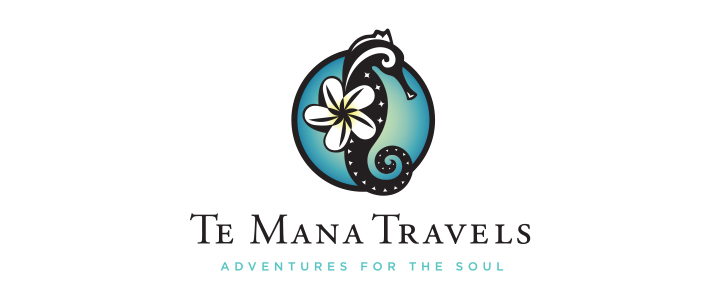 Te Mana Travels Logo Design   | DesignCode | Austin, Texas