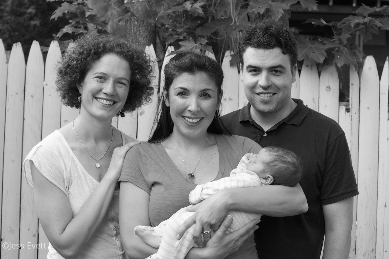 Jess Evett, postpartum doula, supports families with newborn care in Ithaca, NY.