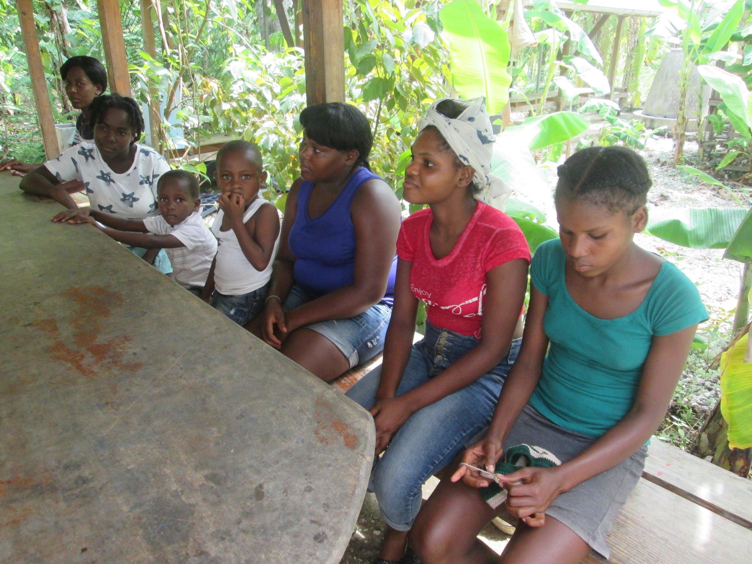 Members of Barye Jedi's newly established women's group