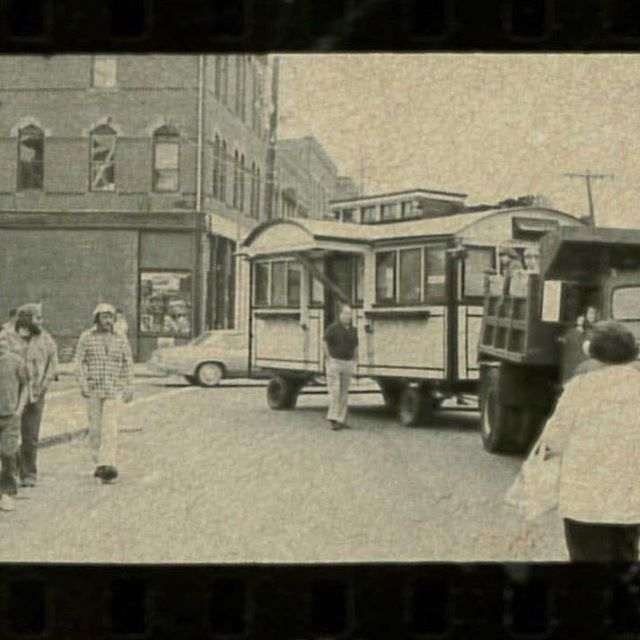 On the move, circa 1976. #natick #caseysdiner