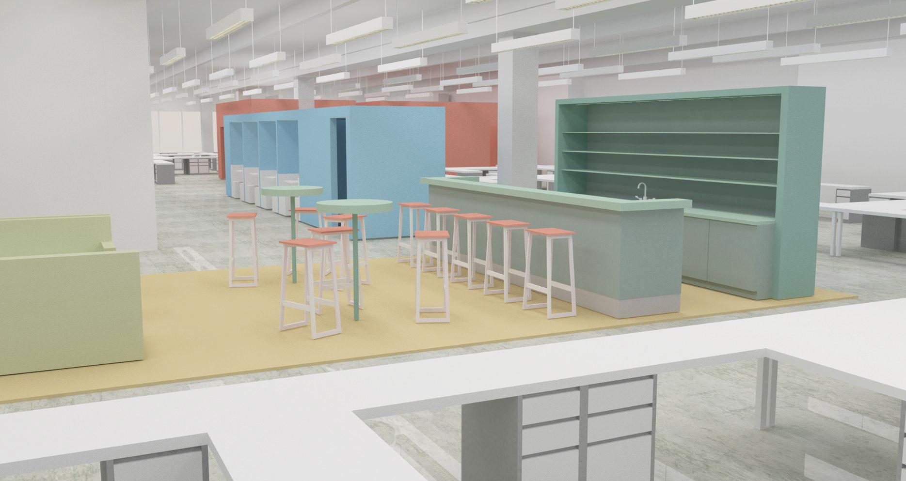 UT Office Concept Studies