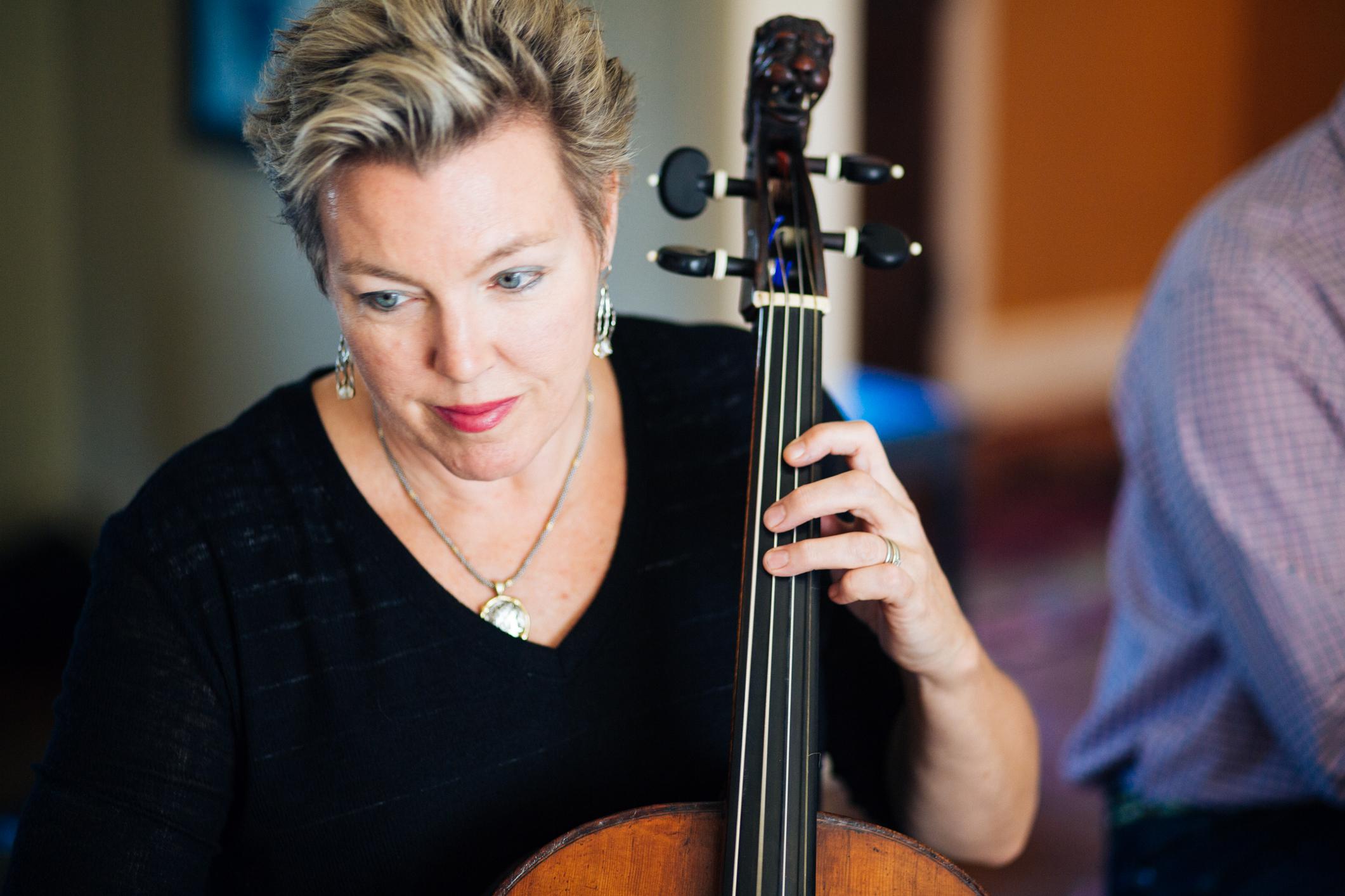 Rebecca Humphrey - Cello and Viola da Gamba