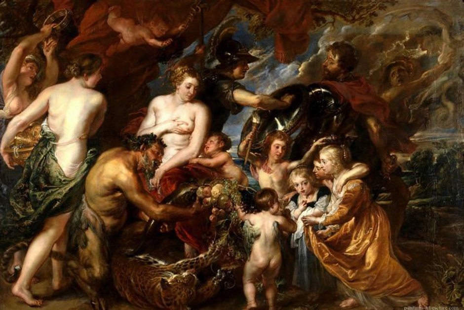 Peter Paul Rubens,  Minerva Protects Pax from Mars (Peace and War)