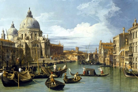 Antonio Giovanni Canaletto,  The Entrance to the Grand Canal, Venice  (c. 1730)