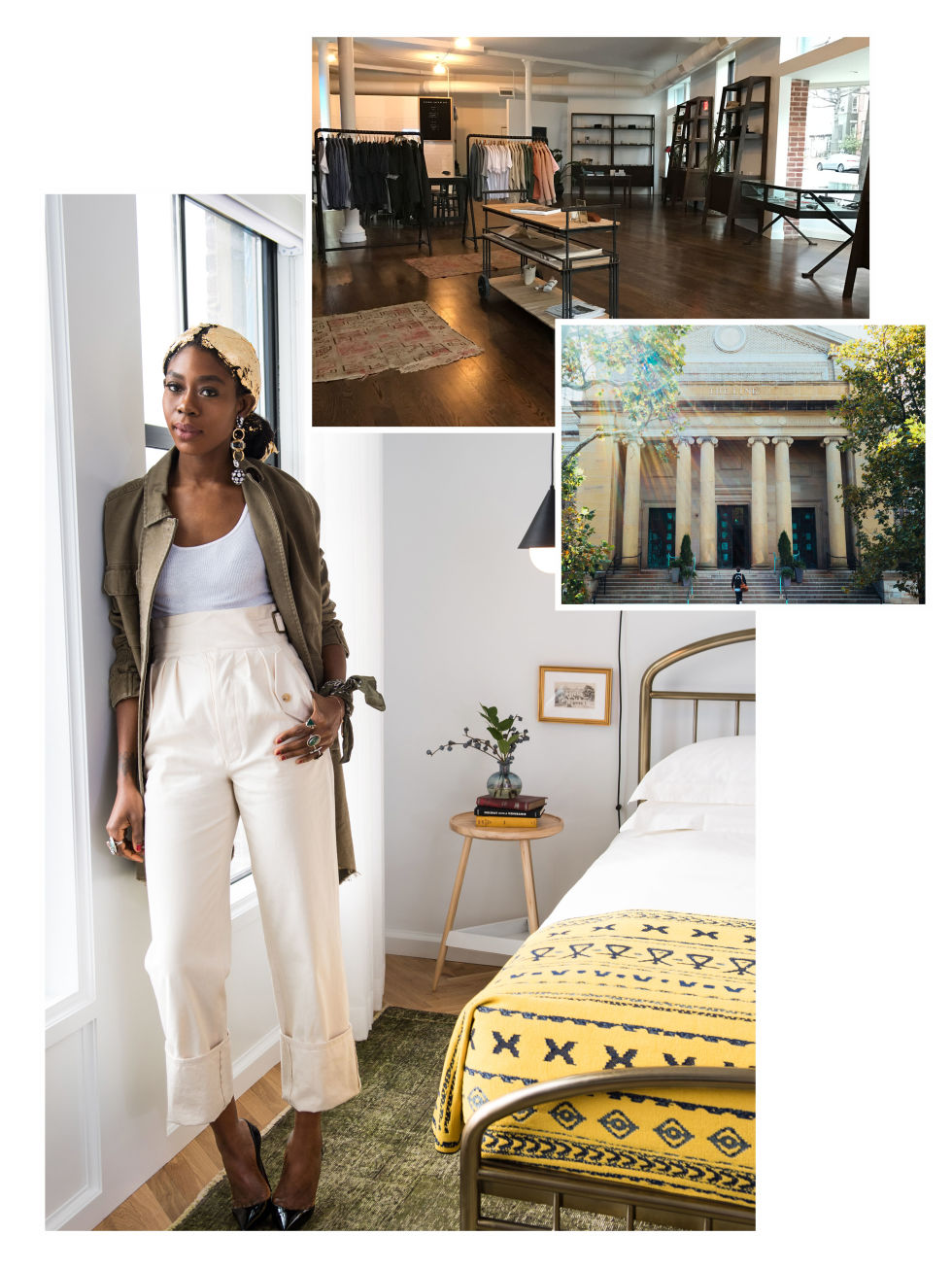Featured in  Elle Magazine  April 2017, Style Across America.