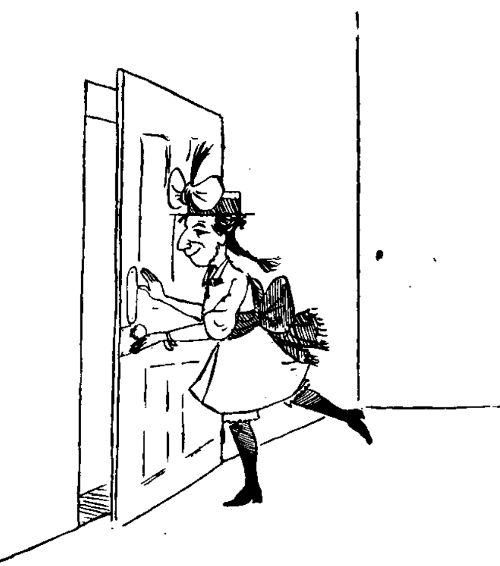 You must read  this cautionary tale  about the girl Rebecca who slammed doors.