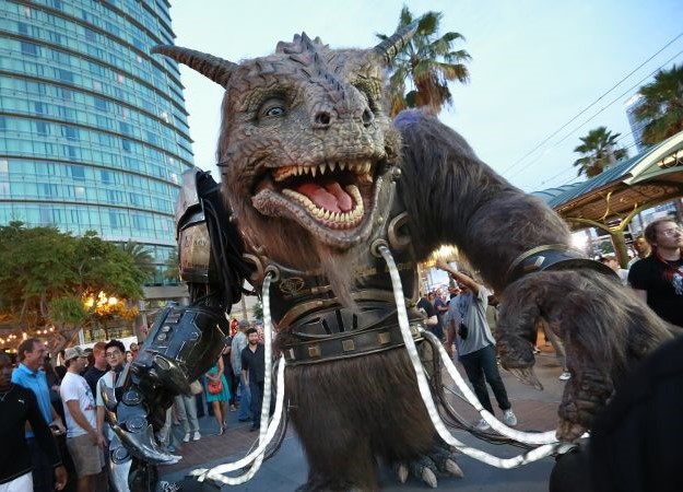 Bodock the Giant Creature for San Diego ComicCon - project led by Legacy FX