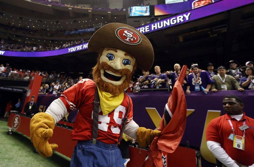 Sourdough Sam for the San Francisco 49ers by Street Characters