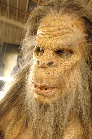 "Bigfoot for ""Strange Wilderness"" Movie - Darnell Shepherd and Almost Human SPFX Studio"