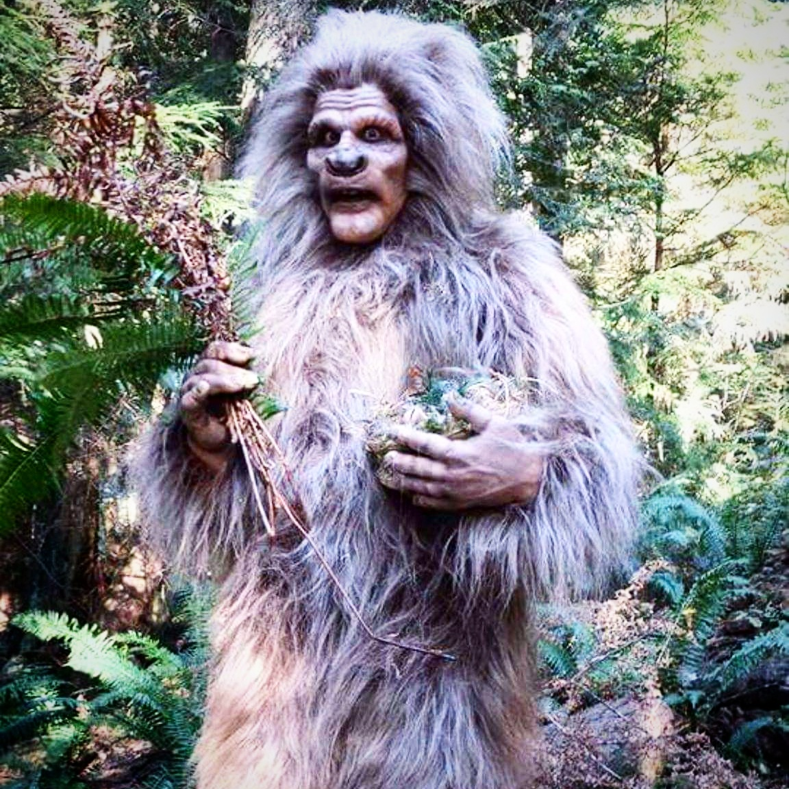 Sasquatch. Creature design and build by Epic Fx (Cayley Giene) for cocomilk tv's Paranormal Solutions Inc.