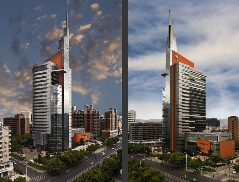 Fuzhou City Power and Electric Building, Fuzhou, China