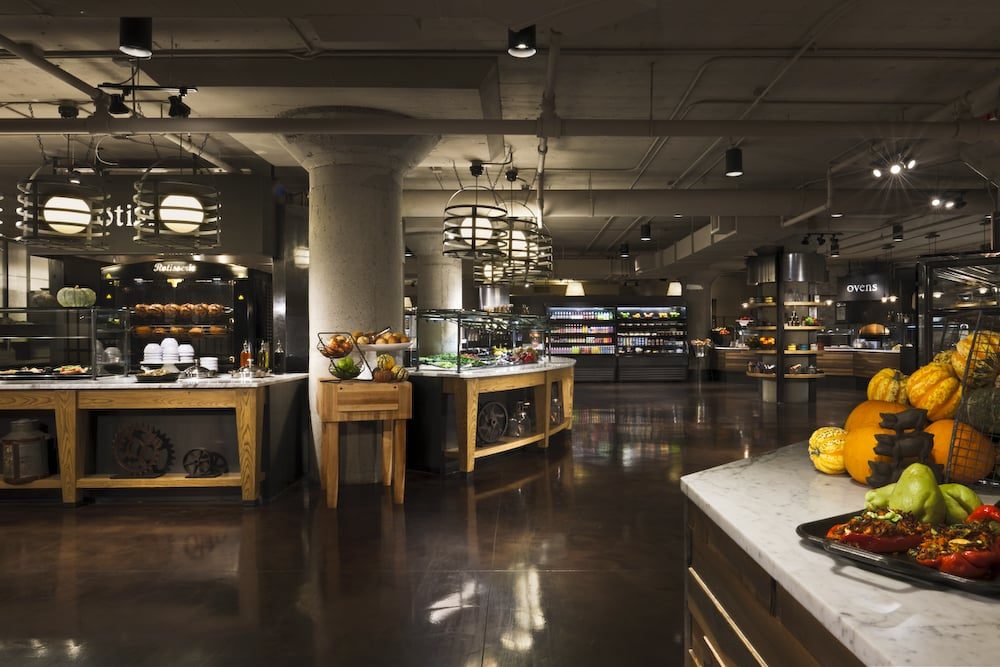 SODO Kitchen at Starbucks Global Headquarters, Seattle, WA, USA