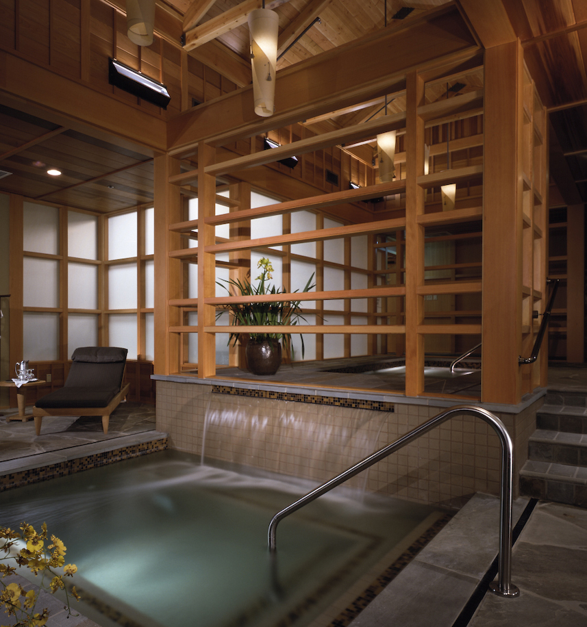 Spa at Salish Lodge, Snoqualmie Falls, WA, USA
