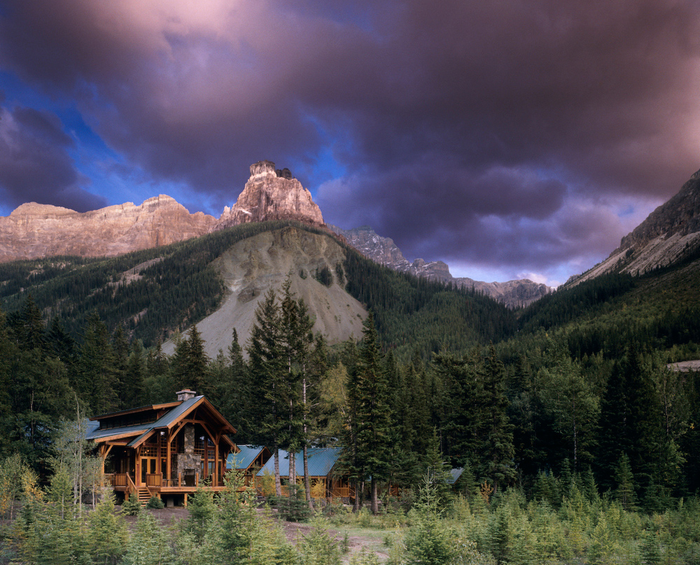 Cathedral Mountain Lodge, Yoho National Park, BC, Canada