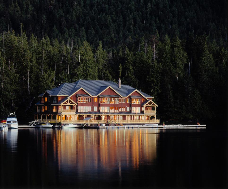 King Pacific Lodge, Princess Royal Island, BC, Canada