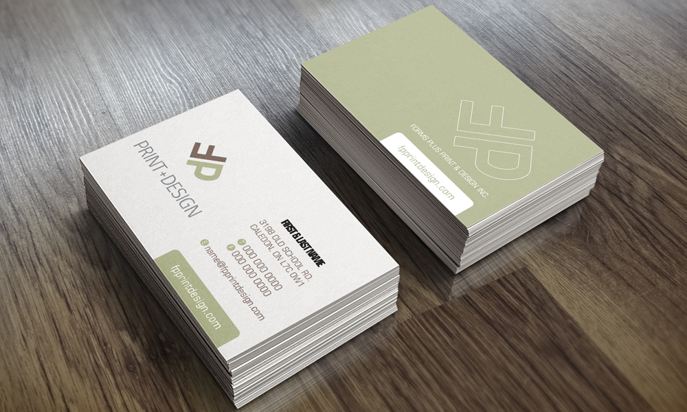 Forms Plus | Logo/Card | Mississauga, ON