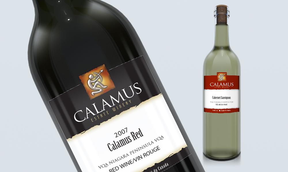 Calamus Estate Winery | Logo/Labels | Jordan Station, ON