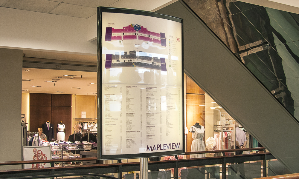 Mapleview Mall | Signage | Burlington, ON