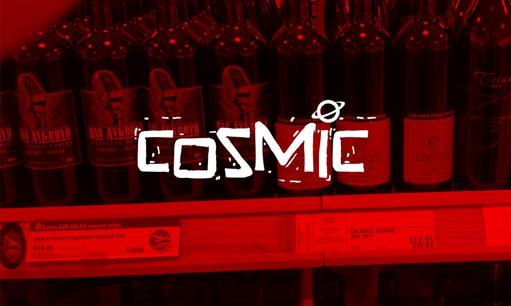 Calamus Estate Winery, Cosmic | Logo/Labels | Jordan Station, ON